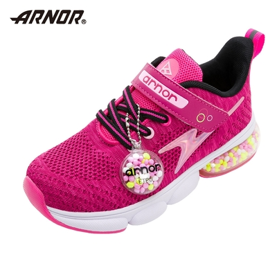 【ARNOR】阿諾-膠囊氣墊慢跑鞋/中大童鞋 加倍緩震 運動 莓果紫(ARKR18102)