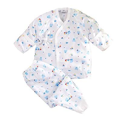 印花紗布肚衣套裝 k50645 魔法Baby