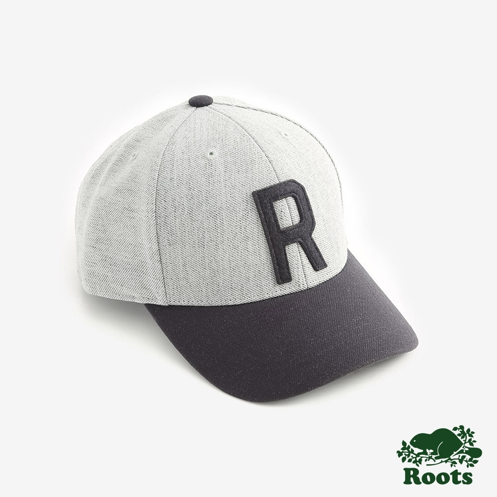ROOTS配件  撞色棒球帽-灰