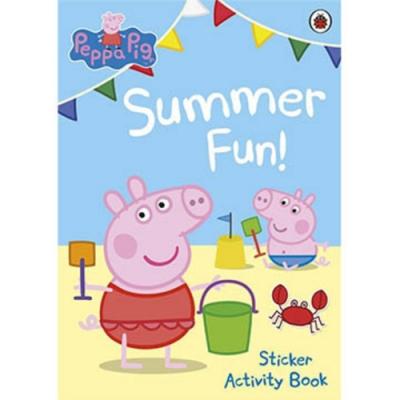 Summer Fun! Sticker Activity Book 佩佩豬的夏天貼紙書