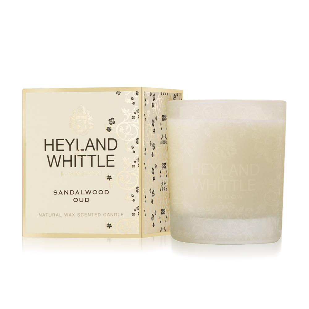 H&W英倫薇朵 玫香檀木香氛燭230g