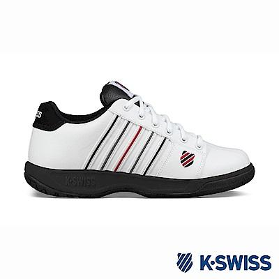 K-SWISS Eadall休閒運動鞋-男-白/紅/黑
