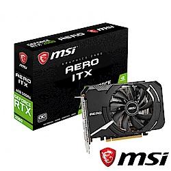 (無卡分期12期)MSI GeForce RTX 2060 AERO ITX 6G OC