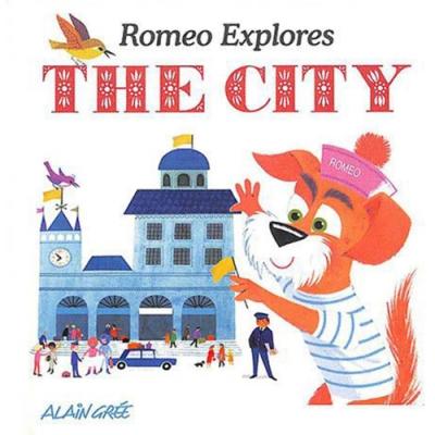 Romeo Explores The City 羅密歐的城市冒險 精裝繪本