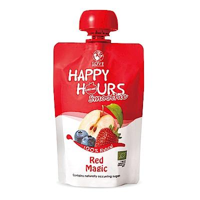 Happy Hour 佑爾康金貝親有機纖果飲(蘋果/藍莓/草莓)18包