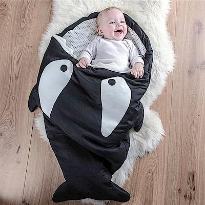 【嬰幼兒標準版-殺人鯨】BabyBites西班牙鯊魚咬一口睡袋