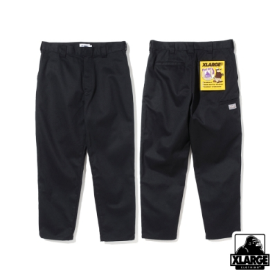 XLARGE SIDE POCKET WORK PT口袋工作褲-黑