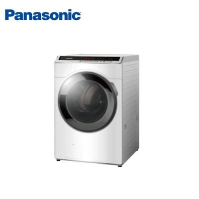Panasonic國際牌 16公斤 洗脫變頻滾筒洗衣機 NA-V160HW-W 冰鑽白