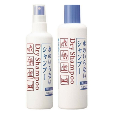 *SHISEIDO 乾洗洗髮劑150ml+補充瓶250ml