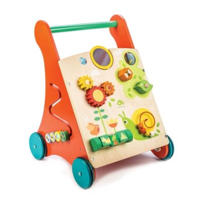 Tender Leaf Toys木製玩具-多功能益智學步車