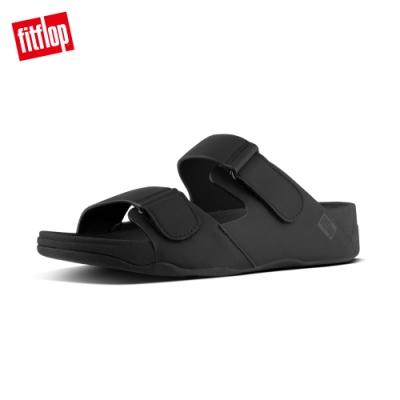 FitFlop GOGH MOC ADJUSTABLE SLIDE SANDALS IN NEOPRENE 可調整式涼鞋-男(黑色)