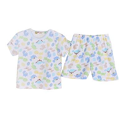 魔法Baby 印花薄款短袖套裝 k50449
