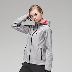 【KENBOO】女款慢跑針織外套-灰