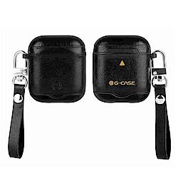 G-CASE 蒙卡洛系列 AirPods 皮環扣 磁吸手工真皮保護套