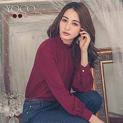 東京著衣-yoco 氣質第一名多色百搭高領上衣-S.M.L(共三色)