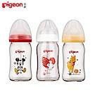 【任選】日本《Pigeon 貝親》迪士尼寬口玻璃奶瓶-米奇/維尼/杯麵【160ml】