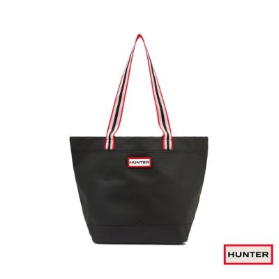 HUNTER - 輕量橡膠托特包 - 黑