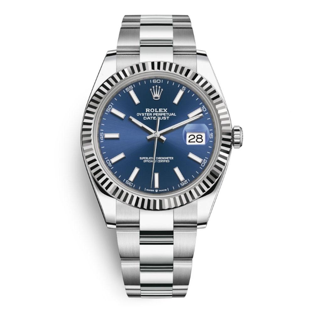 ROLEX 勞力士126334 熱門藍面太陽圈-41mm