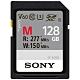 SONY SDXC U3 128GB 高速記憶卡 SF-M128 (公司貨) product thumbnail 1