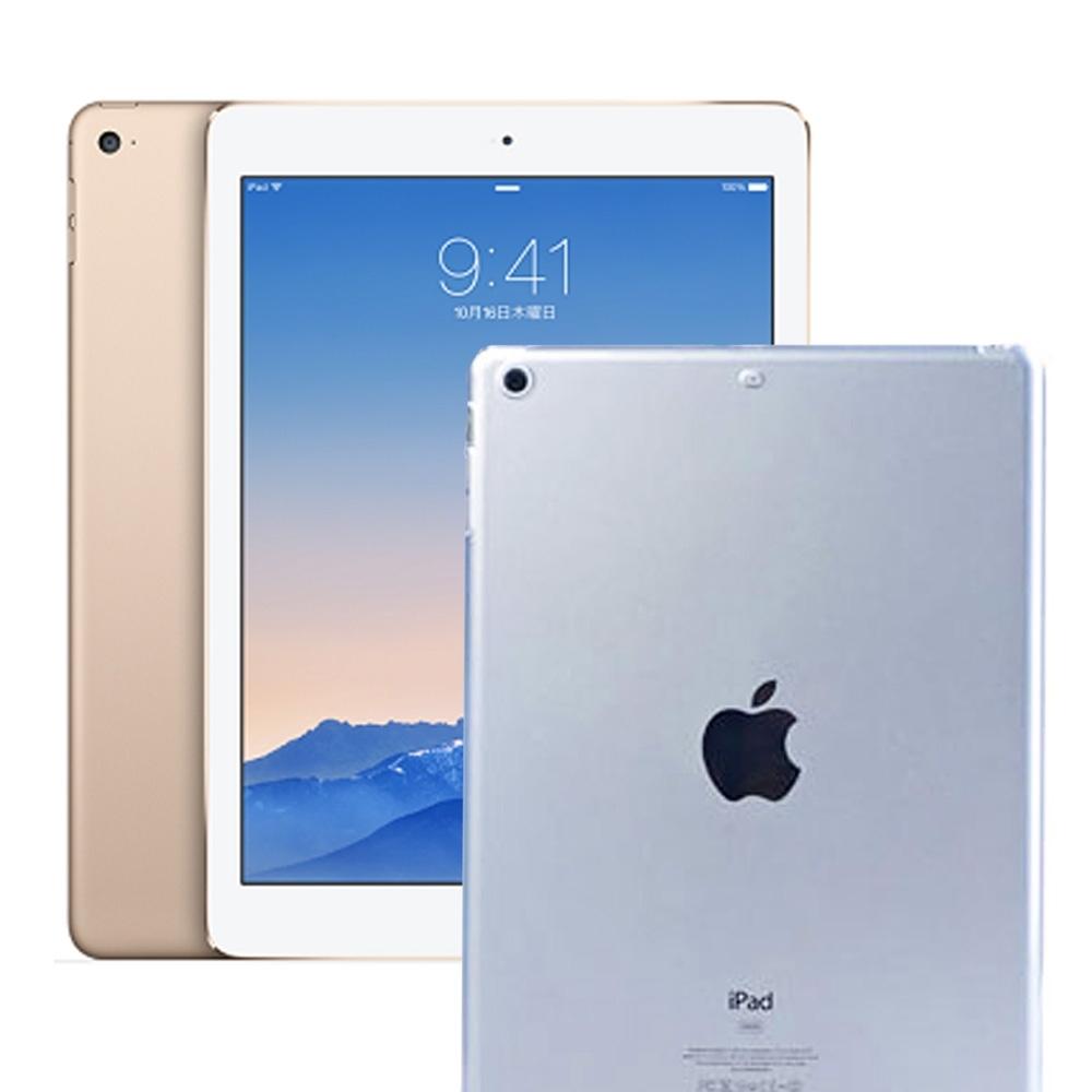 APPLE iPad Mini2/ Mini3 TPU 防衝擊透明清水保護套(附保護貼)