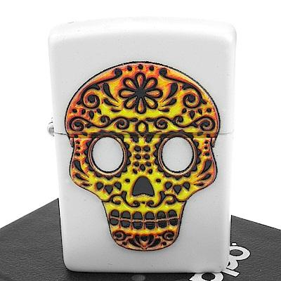 ZIPPO 美系~Sugar Skull-亡靈節糖骷髏立體圖案打火機