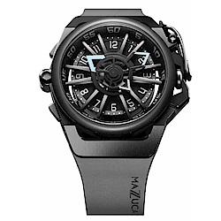 MAZZUCATO RIM高工藝義式美學翻轉機械石英腕錶/03-GY536