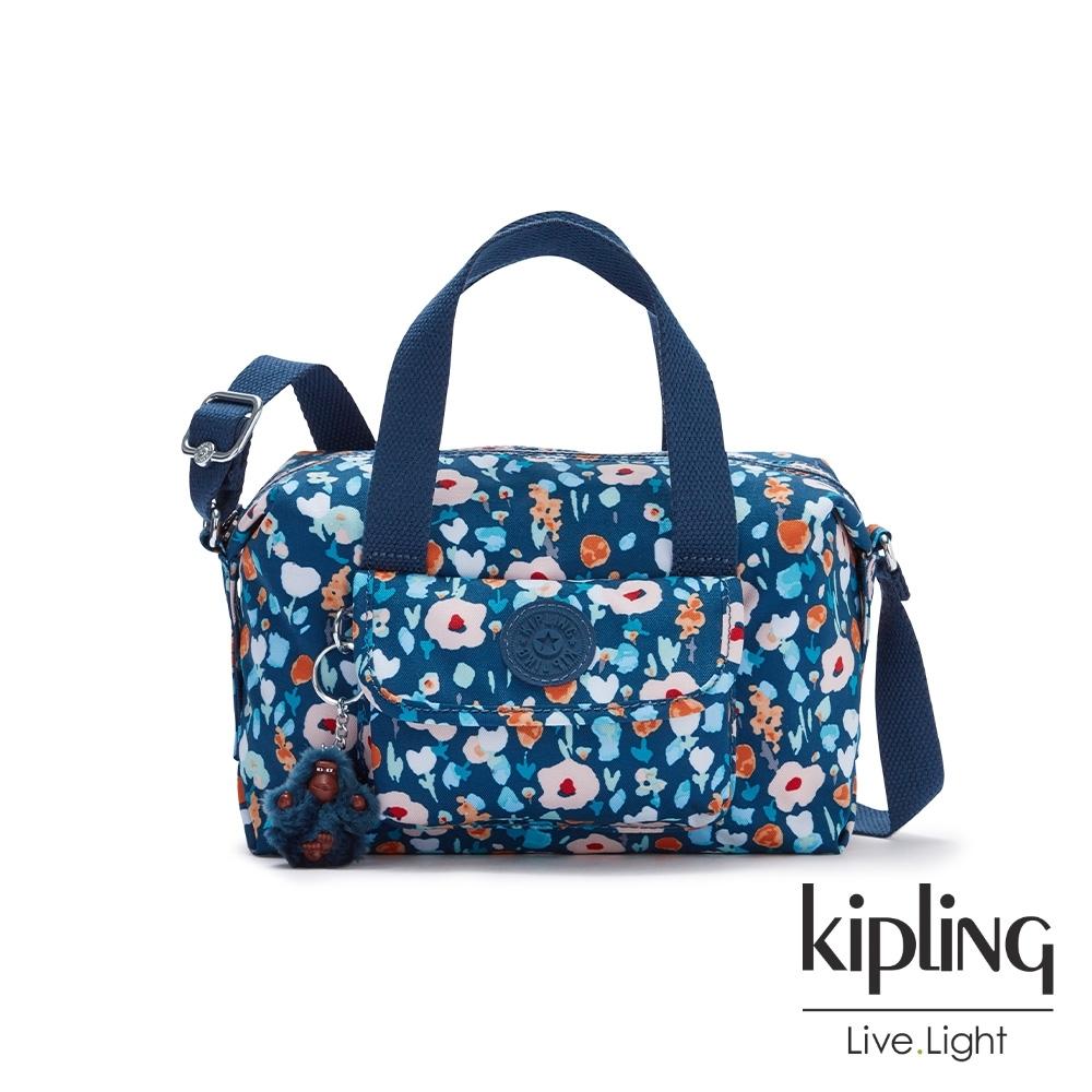 Kipling 牧場彩繪風格波士頓手提兩用包-BRYNNE