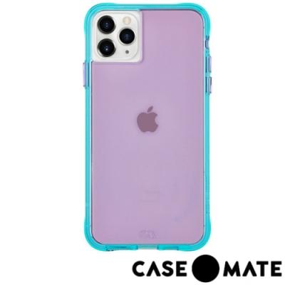 美國Case●Mate iPhone 11 Pro Max經典霓虹防摔手機保護殼-紫/藍綠