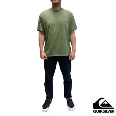 【QUIKSILVER】X COMP SS T恤 軍綠