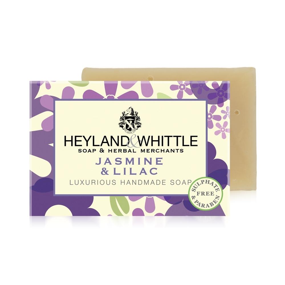 *H&W英倫薇朵 茉莉丁香手工香氛皂120g