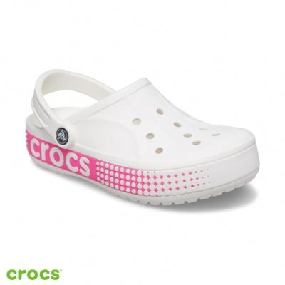 Crocs卡駱馳 (中性鞋) 貝雅LOGO卡駱班克駱格-206852-100