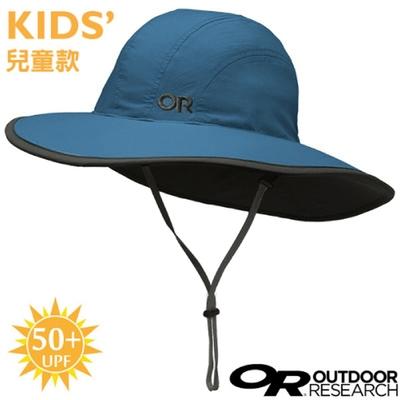 Outdoor Research 兒童款 Rambler Sun Sombrero UPF50+ 抗紫外線透氣牛仔大盤帽子.圓盤帽_藍色