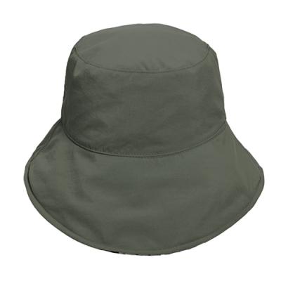 荒野【wildland】中性抗UV雙面漁夫帽灰黑色