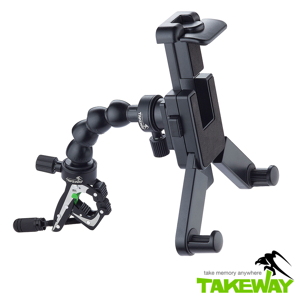 TAKEWAY  R1運動夾套裝組 (含蛇頸/平板座) TCK102
