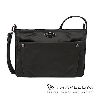Travelon美國防盜包 PARKVIEW小斜背包/側肩包(TL-43406-19黑)