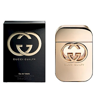 GUCCI Guilty 罪愛女性淡香水 75ml