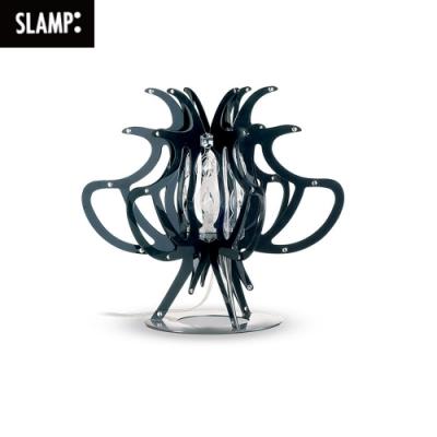 【SLAMP】COMODINA桌燈 (黑/白/透明/彩色)