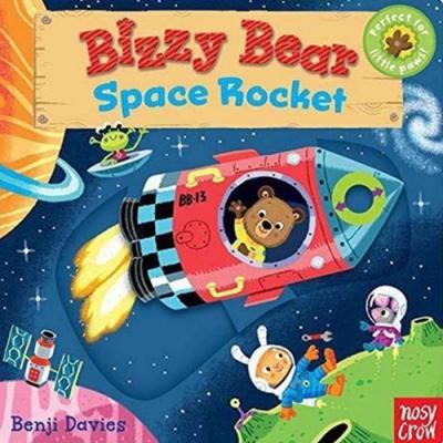 Bizzy Bear:Space Rocket 太空員熊熊新奇操作書(美國版)