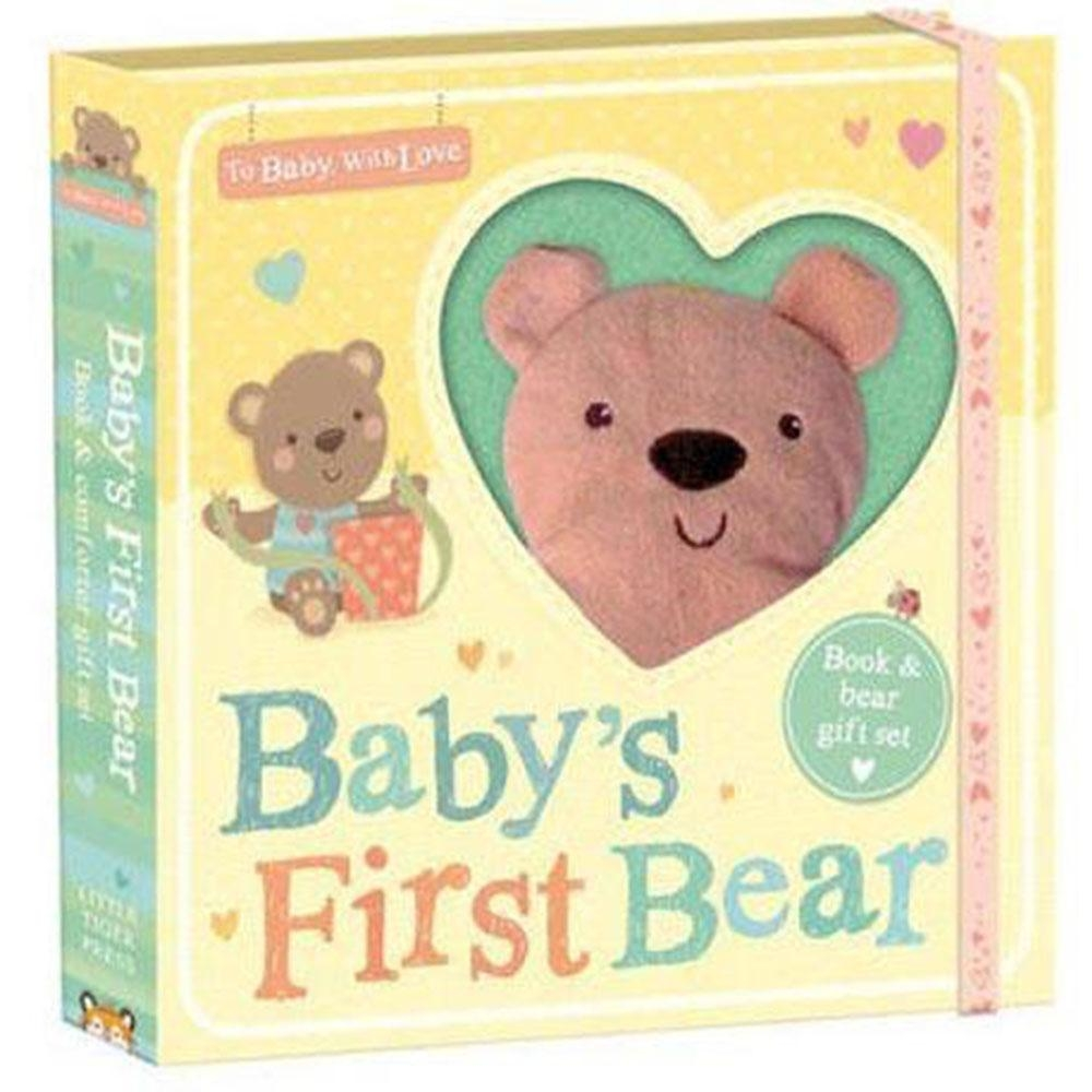 To Baby,With Love:Baby's First Bear 寶貝的小熊禮物書