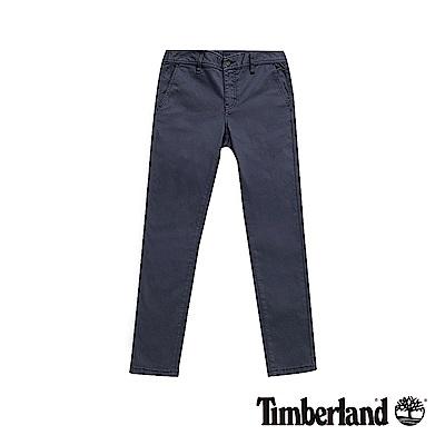 Timberland 女款暗藍色超彈力緊身休閒褲|B2203