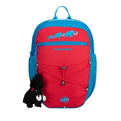 【Mammut 長毛象】First Zip 8L 多用途兒童後背包 地獄紅/帝國藍 #2510-01542