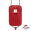 Naturehike 頸掛式防水旅行護照證件收納包 紅色-急
