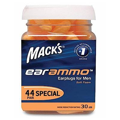 美國 Mack s 泡棉耳塞 44副裝 防噪音 飛行 適用