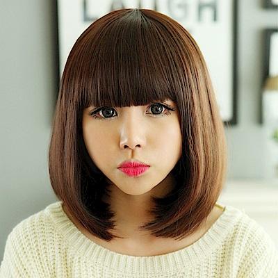米蘭精品女假髮整頂短假髮-修臉可愛逼真女美髮用品3色69o73