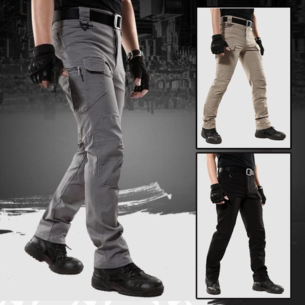 美國熊 立體剪裁 多口袋紮實面料 戰術褲 工作褲