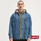 Levis 男款 襯衫連帽外套 / 牛仔工裝設計/Oversize寬鬆長版