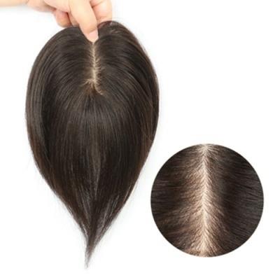 米蘭精品 假髮片真髮絲-25cm補髮片8x14cm內網女假髮母親節禮物73us20