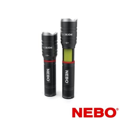 【NEBO】Tac Slyde 12倍變焦滑行COB兩用手電筒