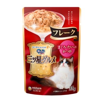 銀湯匙 三星美食細嫩口感餐包 鮪魚+鰹魚+鯛魚(35gx1包)