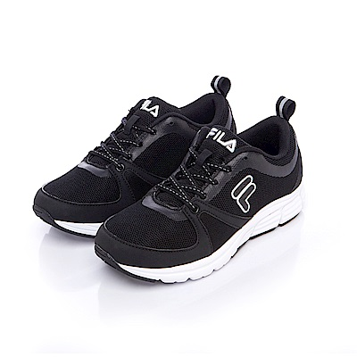 FILA 女款健走鞋-黑 5-F702S-001